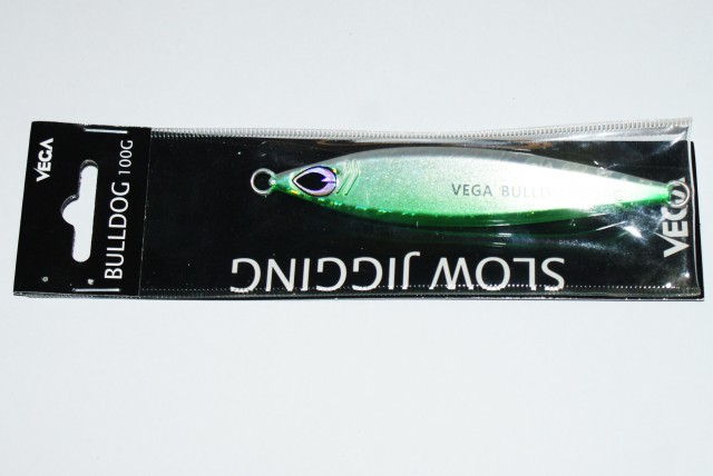 Vega Bulldog 100g Cor:06 Green Mackerel