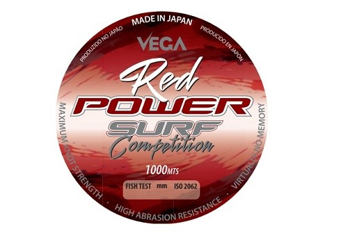 Fio Vega Red Power Surf Competition 0.20mm 1000m